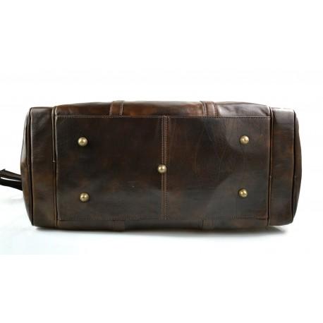 Borsone viaggio in pelle doctor bag con manici e tracolla borsa pelle uomo  donna nero e1ce3a200c3