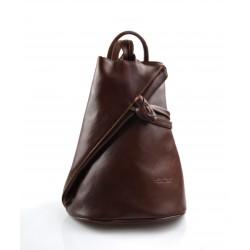 Bolso de viaje bolso de cuero mochila de cuero de hombre mochila