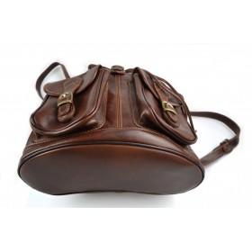 Leather briefcase mens ladies black office shoulderbag