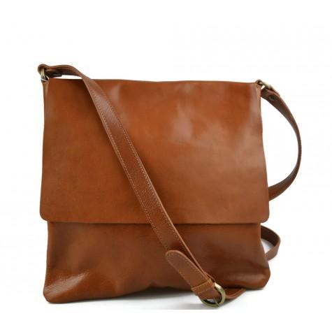Shoulder bag for men leather honey leather crossbody bag leather