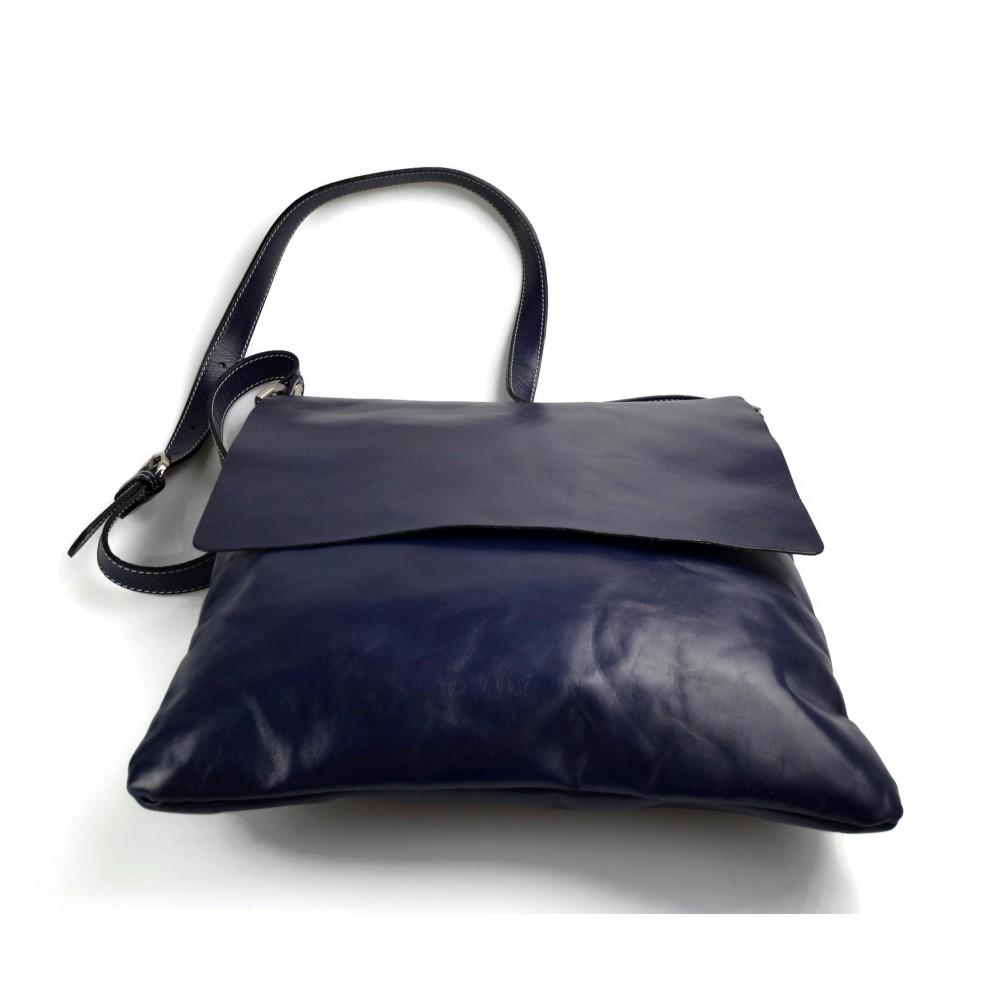 3f1c65bbf0 ... Leather ladies handbag brown shopper shopping bag shoulder bag ...