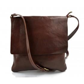 Shoulder bag for men leather brown leather crossbody bag leather