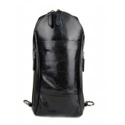 Bolso de cuero bolso de hombre volso de mujer mochila de piel negro