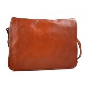 Tracolla pelle uomo donna rosso borsa pelle borsello spalla