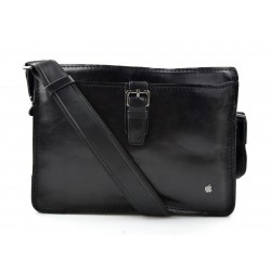 Leather satchel mens leather messenger ladies handbag shoulderbag ipad tablet holder leather bag dark brown