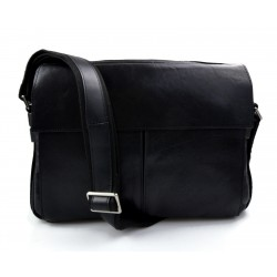 Sacoche de ipad tablet sacoche portable sac cuir sac à main bandoulière sacoche femme homme noir