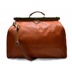 Leather doctor bag mens travel bag womens cabin luggage bag leather shoulder bag medical