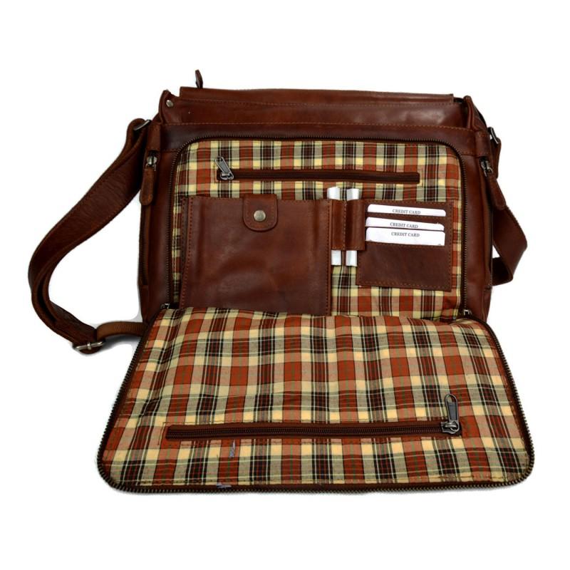 leder reisetasche sporttasche dunkel braun damen herren schultertasche. Black Bedroom Furniture Sets. Home Design Ideas