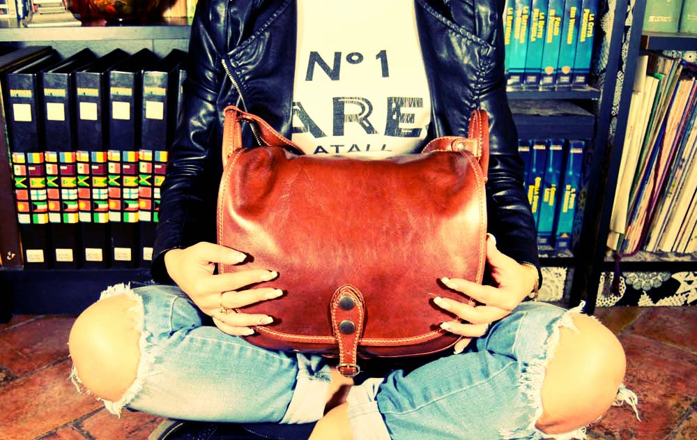 leather trabel bags